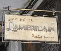 When in the Kasbah of Tangiers, stay in the 007 crew's hotel of choice