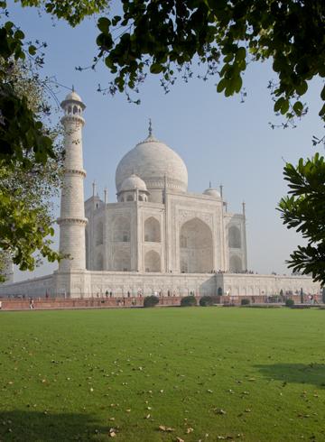 Had I been saving India, or had I been saving the Taj Mahal?