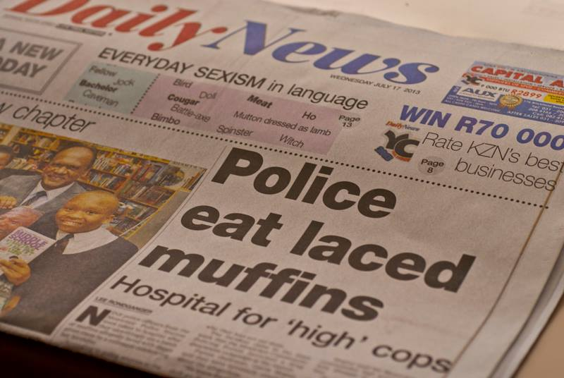 Muffins make the headlines.