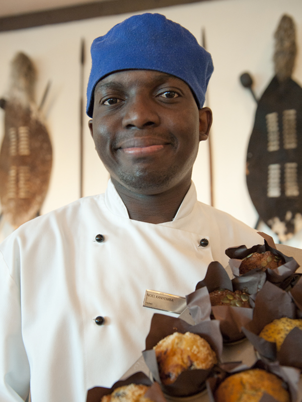 Chef Noel Kanyemba creates the Durban Curry Muffins