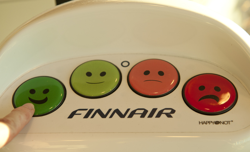 A big happy smile for Finnair