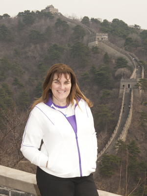 My visit to the Great Wall of China.