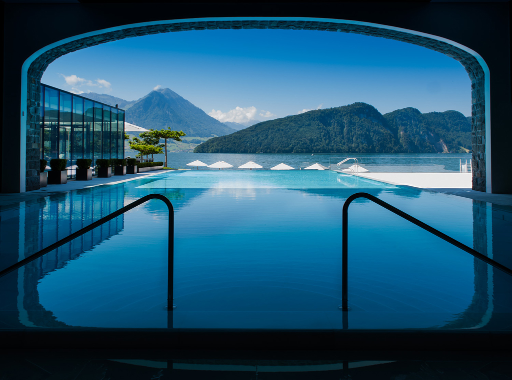 """Merit of Excellence """"The Swiss Pool"""""""