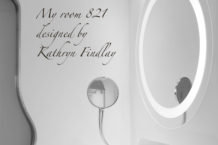 Checking in to room 821, I couldn´t resist checking out photographically, the curves.