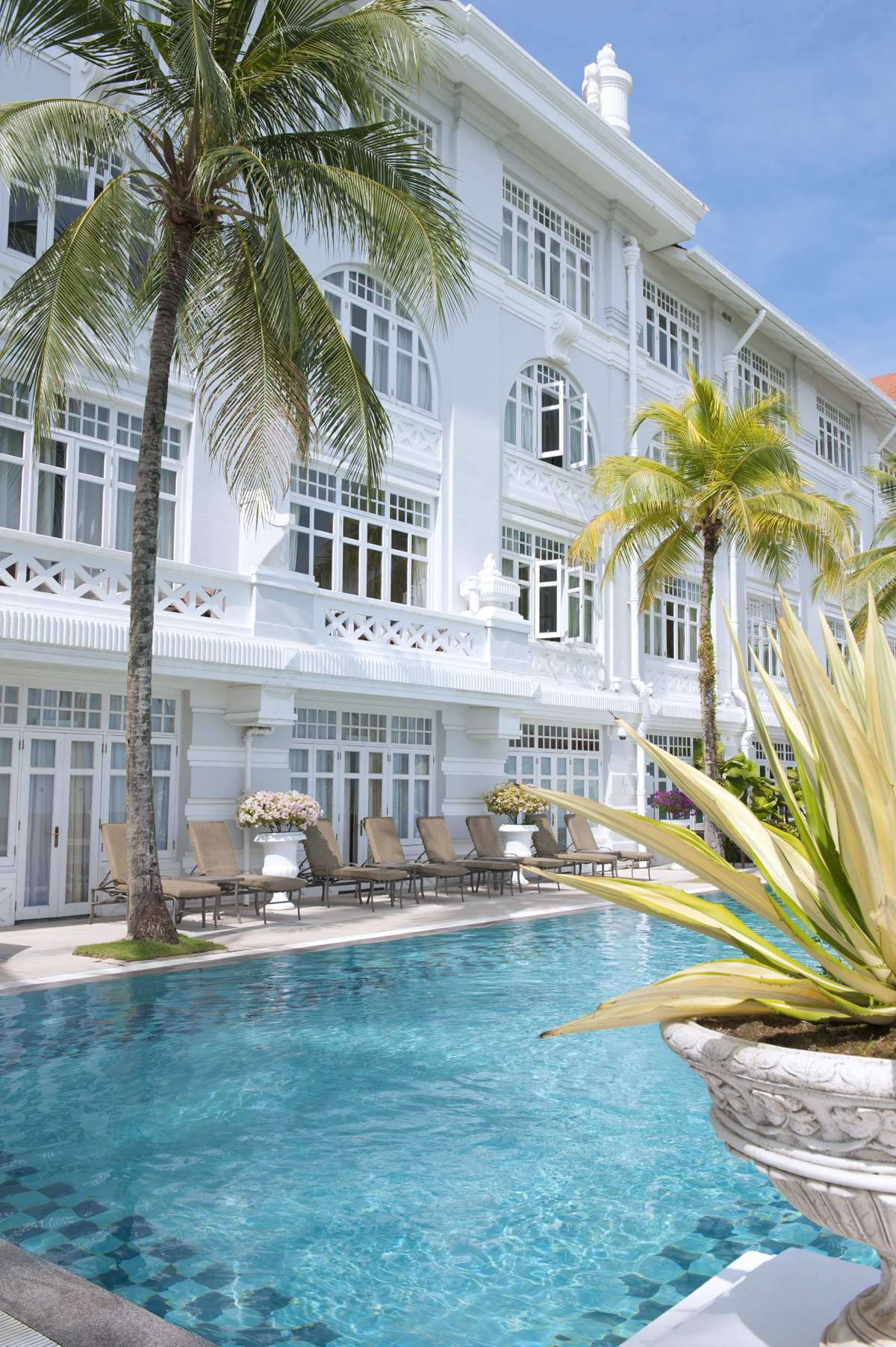 E&O Hotel Penang, A hotel purely on its historical heritage, fine name and luxury rating.