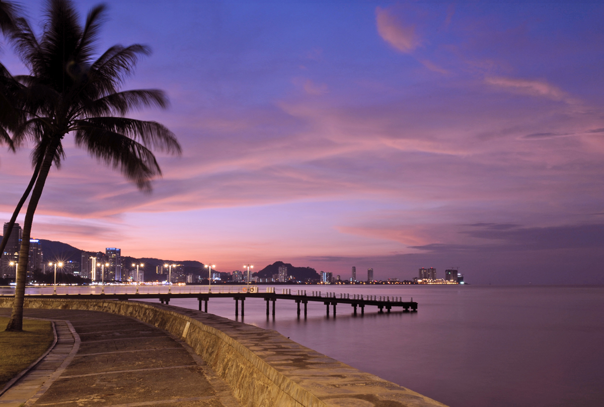 E&O Hotel Penang, what was the world´s longest promenade.