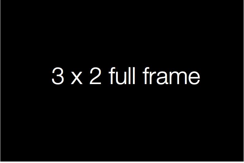 3x2 full frame image