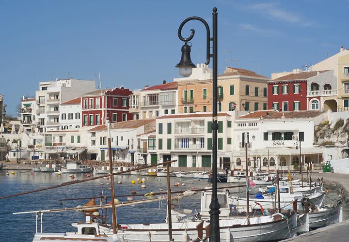 The picturesque Port of, Es Castell, Menorca