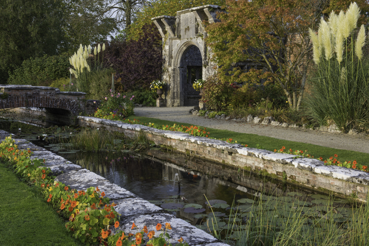 Photography of Dromoland hotel walled Gardens