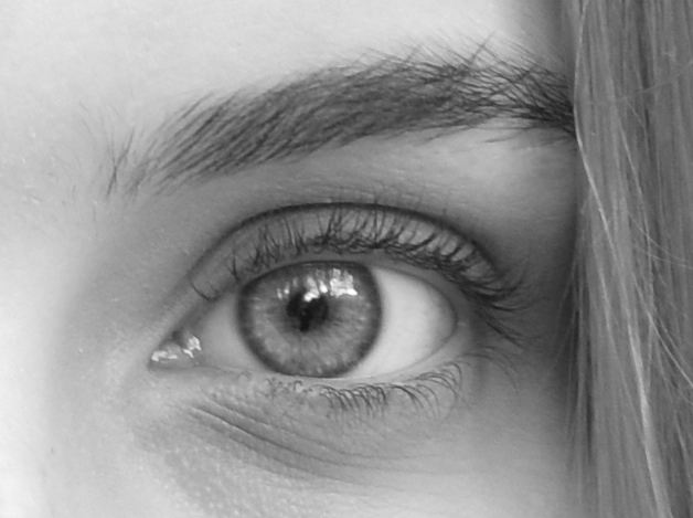 Can you see what I see? Bella´s eye © Michelle Chaplow