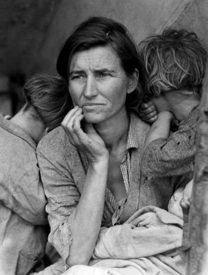 Dorothea Lange´s Migrant Mother