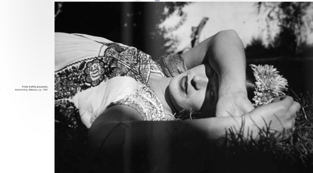 Frida Khalo at home Portrait by Leo Martiz