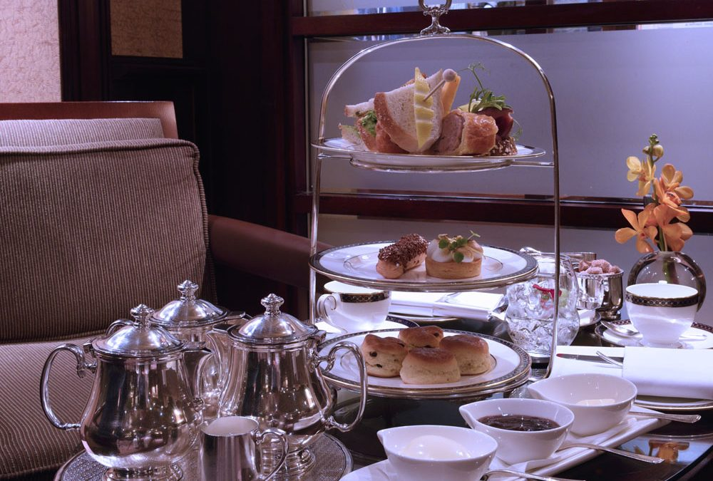 Gentleman's Afternoon Tea at the Chester Grosvenor