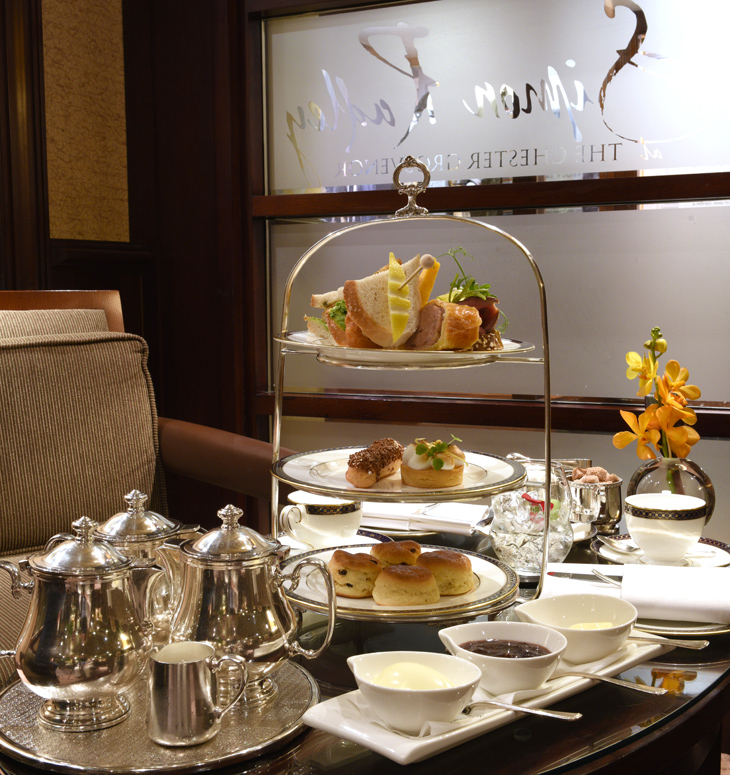an Indulgent An Gentleman's Afternoon Tea