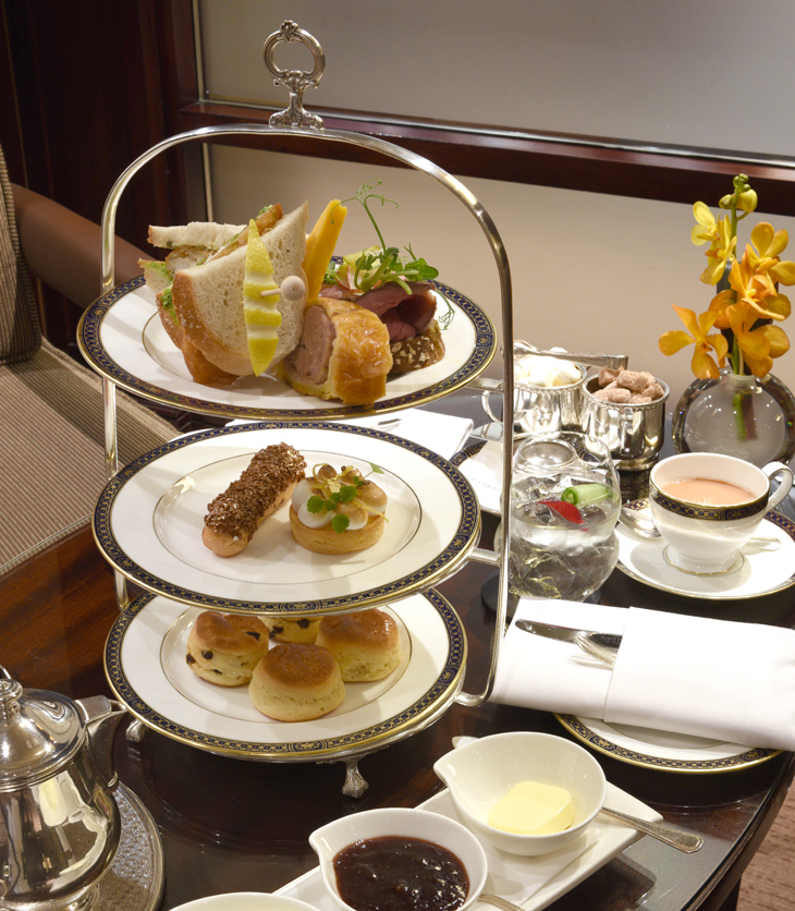 Gentleman's Afternoon Tea at the Chester Grosvenor Hotel