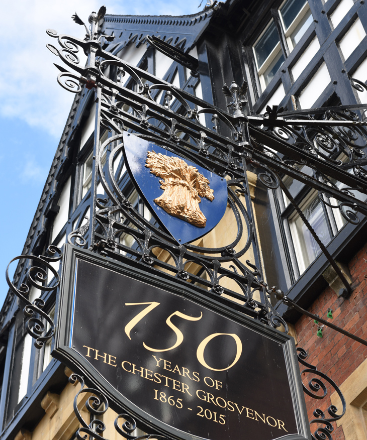 The Chester Grosvenor Historic Hotel