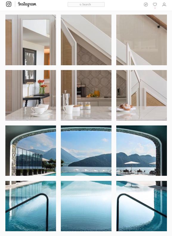 The New Duplex Apartments at Hotel Camiral Switzerland  The Pool at Park Hotel Vitznau, Switzerland © Michelle Chaplow