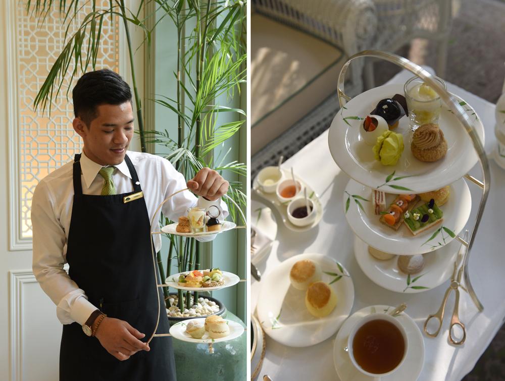 High tea at the Mandarin Oriental Bangkok © Michelle Chaplow