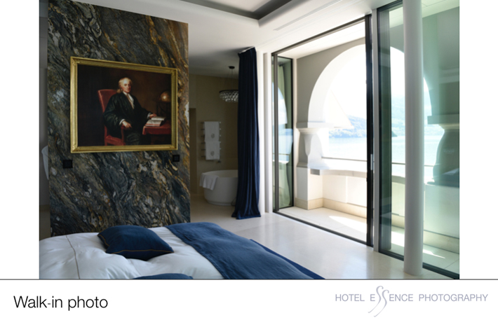 """A """"walk-in"""" hotel bedroom photo which takes less tahn 5 minutes to shoot."""