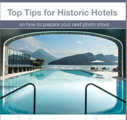 Top Tips for Historic Hotels on How to prepare your next photo shoot