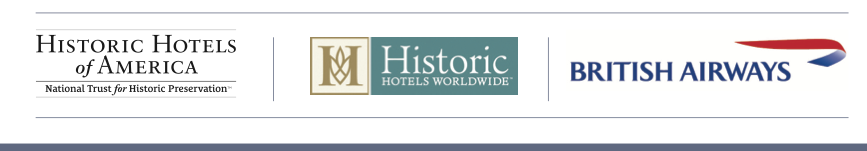 Historic Hotels Worldwide. Historic Hotels of America and British Airways