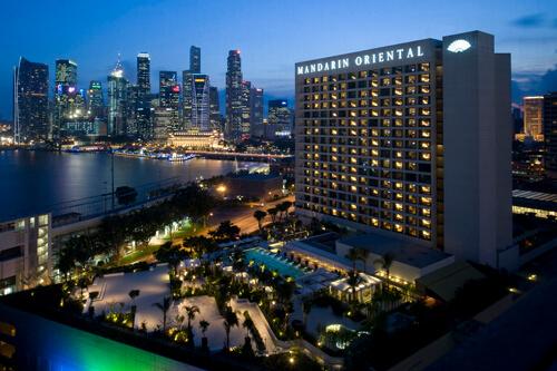 © Michelle Chaplow, Mandarin Oriental Hotel
