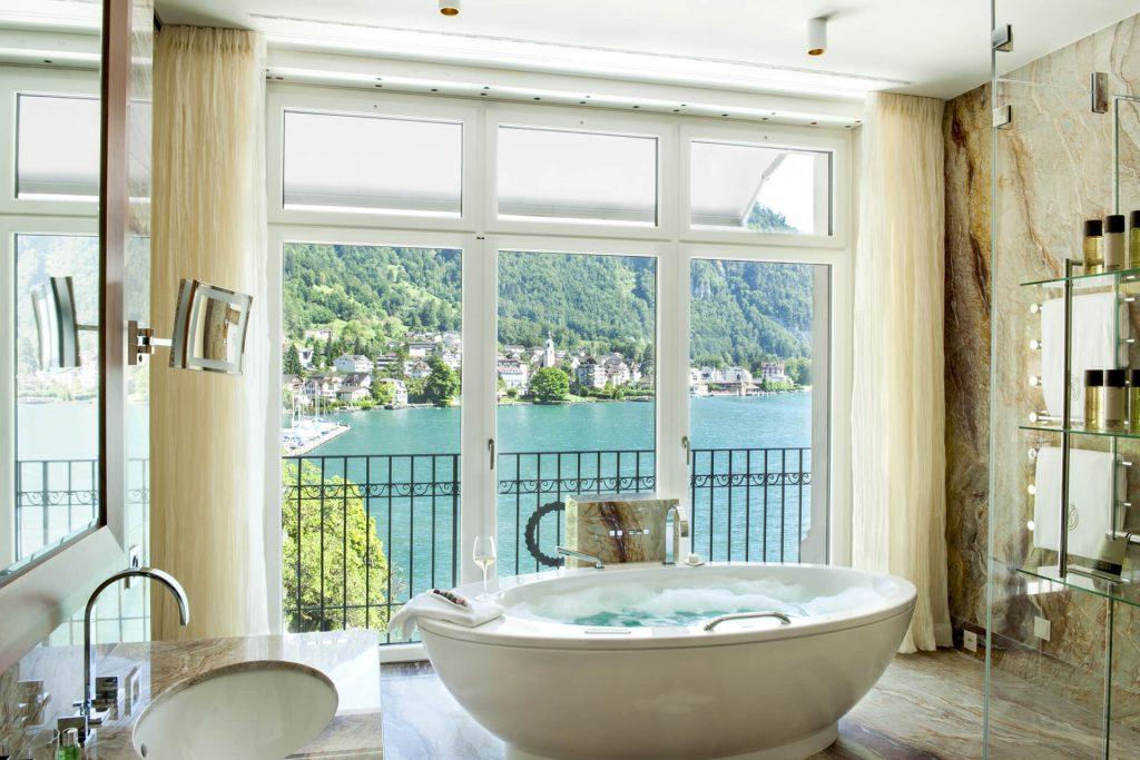 Park Hotel Vitznau Hotel Bathroom