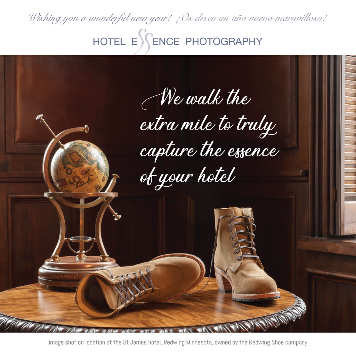 We will go the extra mile to capture the very essence of your hotel
