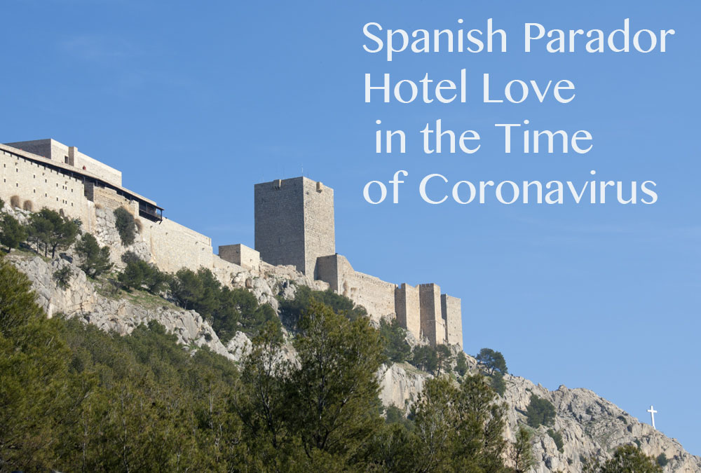 The Parador de Jaen is located in a 13th-century hilltop castle photography by Michelle Chaplow