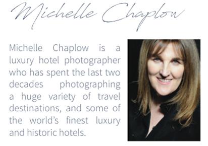 Michelle Chaplow Hotel Photographer