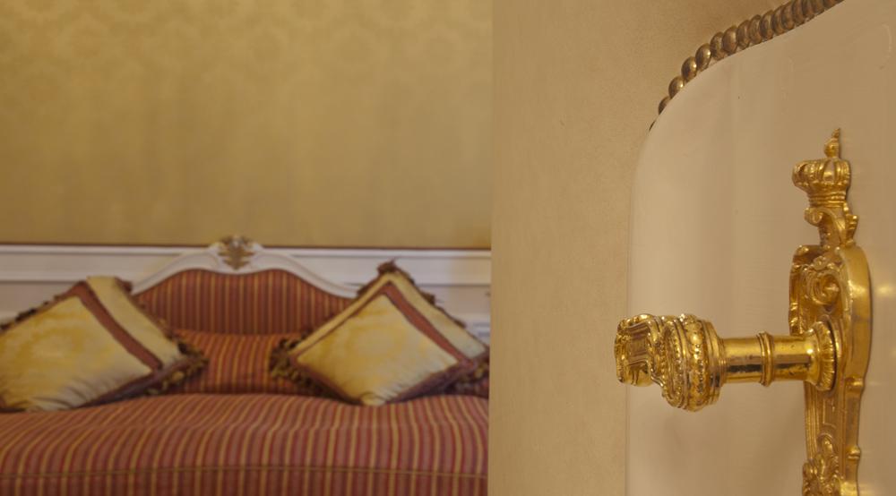 Door handles and heavy bedspreads