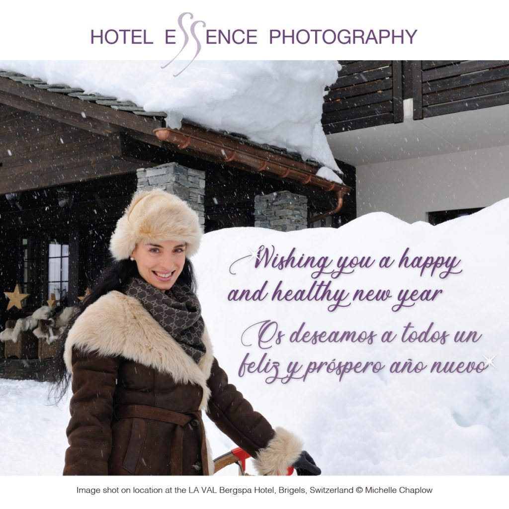 New Year Greetings from Hotel Essence Photography