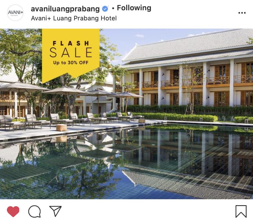 Social Media Avani Luang Prabang